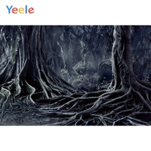 Yeele Photophone Halloween Backdrop Mysterious Forest Tree Roots Night Vinyl Photography Background For Photo Studio Photocall