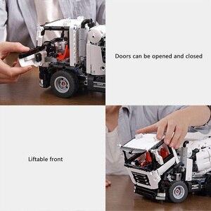 Image 5 - Xiaomi MITU mühendislik karıştırıcı kamyon yapı taşları araba oyuncak çocuklar noel hediyesi montaj yapı tuğla 900 + parçaları bulmacalar DIY