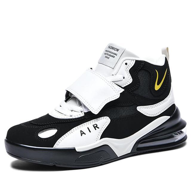 Zapatillas deportivas de baloncesto para hombre, zapatos masculinos de alta calidad, transpirables, con amortiguación de aire, para exteriores, 38-45, otoño e invierno, 2021 2