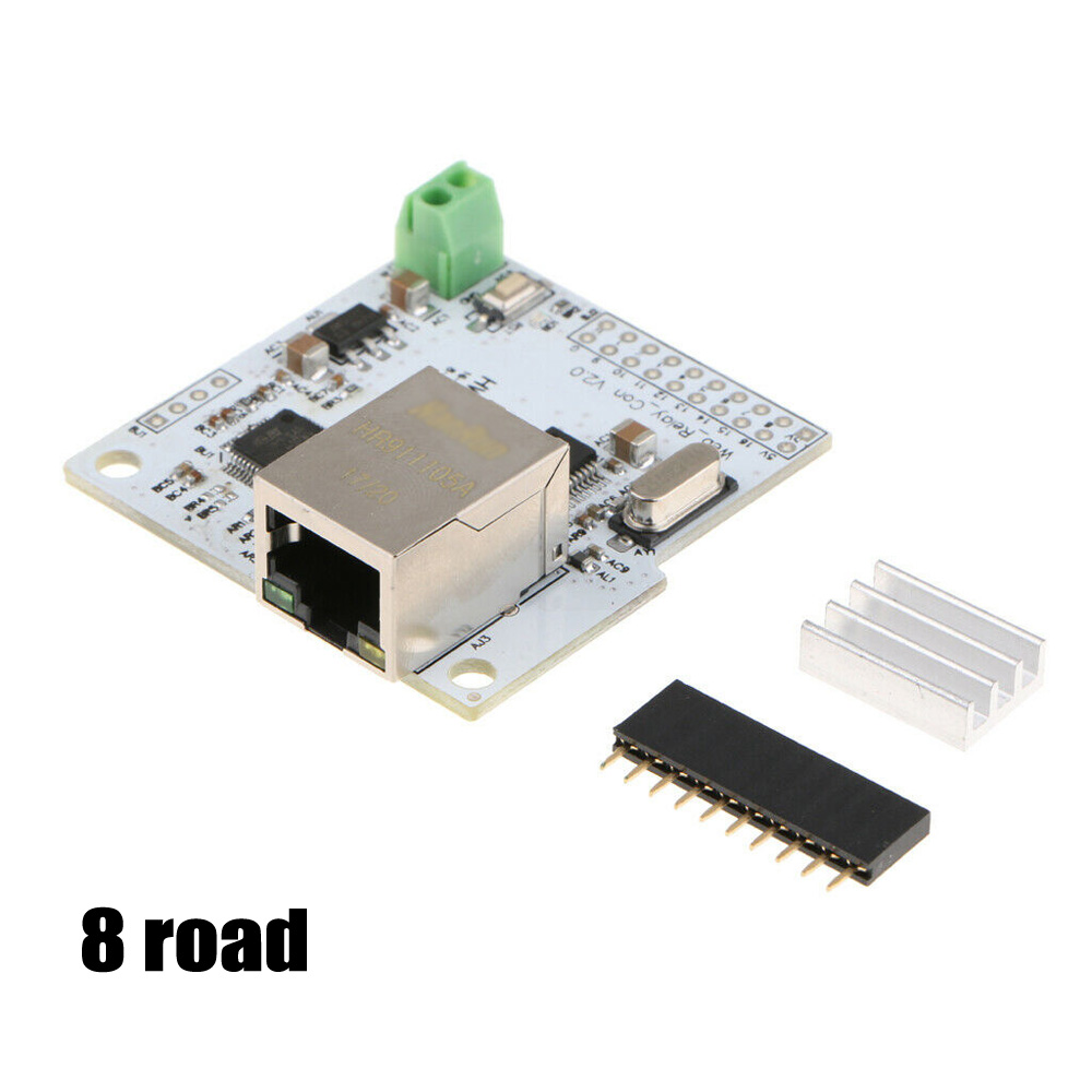 8,16 Road Channel Ethernet Network Module Controller For Relay New Durable