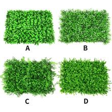 Artificial Plant Topiary Hedge Plant Faux Greenery Lawn For Garden Backyard Home Decorations Artificial Plant Lawn Wall цена и фото