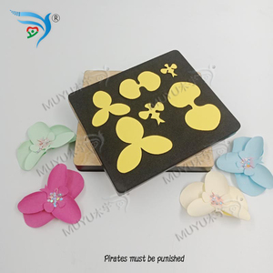 Image 1 - FLOWER cutting dies & wooden die scrapbook cut sky Compatible with most machines