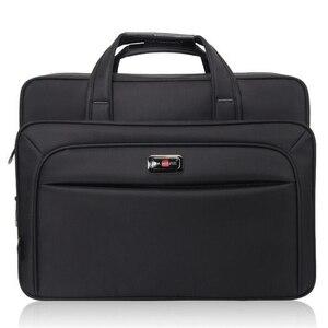 """Image 2 - 2020 yeni iş erkek evrak çantası yüksek kapasiteli erkek tek omuz çantaları 14 """"15"""" 16 """"Laptop çantası kadın iş dosyaları ofis paketi"""