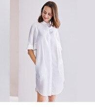 قميص نسائي جديد للربيع والصيف فضفاض ومريح من النوع راجلان أكمام إضافة تصميم فضفاض