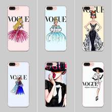 For Xiaomi Redmi Note 2 3 3S 4 4A 4X 5 5A 6 6A Pro Plus Skin Thin Pc Cell Case The Vogue Princess(China)