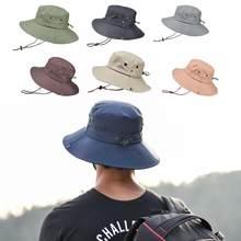 Chapeau de Camouflage pour la pêche en plein air, imperméable, couleur unie, Protection contre les UV