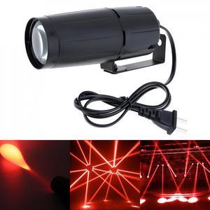 Image 2 - 5W LED לבן קרן Pinspot אור זרקור סופר מואר מנורת כדורי מקרן DJ דיסקו אפקט DMX שלב תאורה מגניב עבור KTV DJ