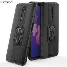 For OPPO F11 Case For OPPO F11 Protective Case Finger Ring Silicone PC TPU Armor Shell Funda Hard Back Phone Case For OPPO F11 швабра topoto f11
