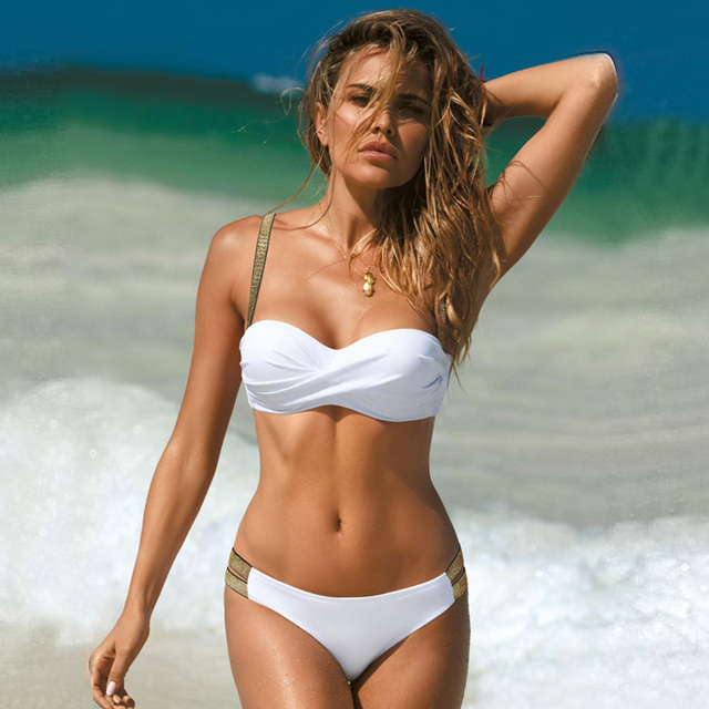 Plus Size Sexy Bikini Set in Many Styles with Push Up Top 2