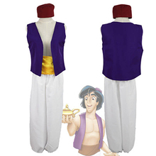 Halloween Aladdin and Prince Costume Mens Cosplay Dress Up Adam