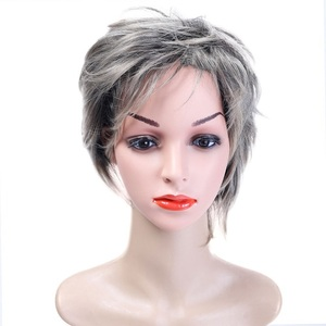 Image 2 - MUMUPI synthetic  Short curly wig hair extension pixie Cut Wig for Women High Temperature Fiber Wig Fashion Lady Wig