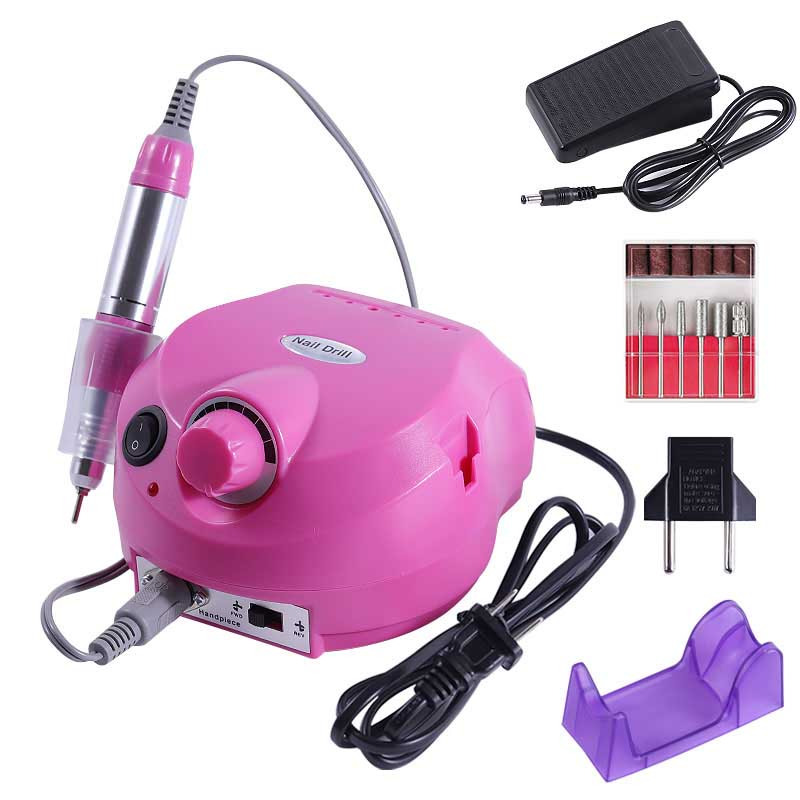 Electric Nail Drill 30000 RPM Manicure Machine Apparatus For Manicure Pedicure Nail File Tools Drill Polish Bits Tools Kits