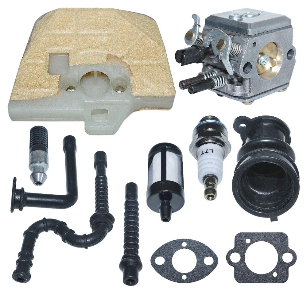 036 Line Filter Air MS340 MS360 1125 Carburetor Stihl Carb Kit C3A 034 120 For Replace Chainsaw Fuel S31A MS350 0651 Zama