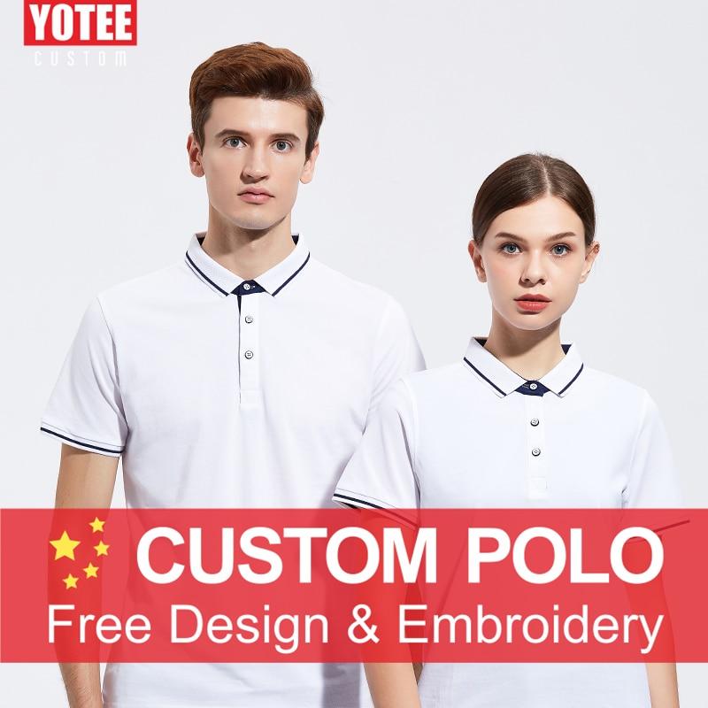 Yotee カスタム刺繍/印刷ポロシャツ diy ブランド基本ドライフィットポロシャツおロゴ男性女性ショートスリーブ