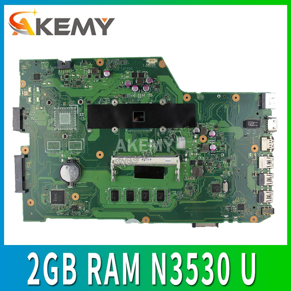 X751MA Motherboard REV2.0 For ASUS K751M K751MA X752M X751MJ X751MD laptop Motherboard Mainboard test 100% N3530 4 cores 2GB RAM