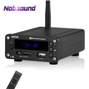 Image 1 - Nobsound HiFi Bluetooth 5.0 דיגיטלי מגבר סטריאו מקלט שולחן העבודה אוזניות Amp SD / USB מוסיקה נגן FM רדיו