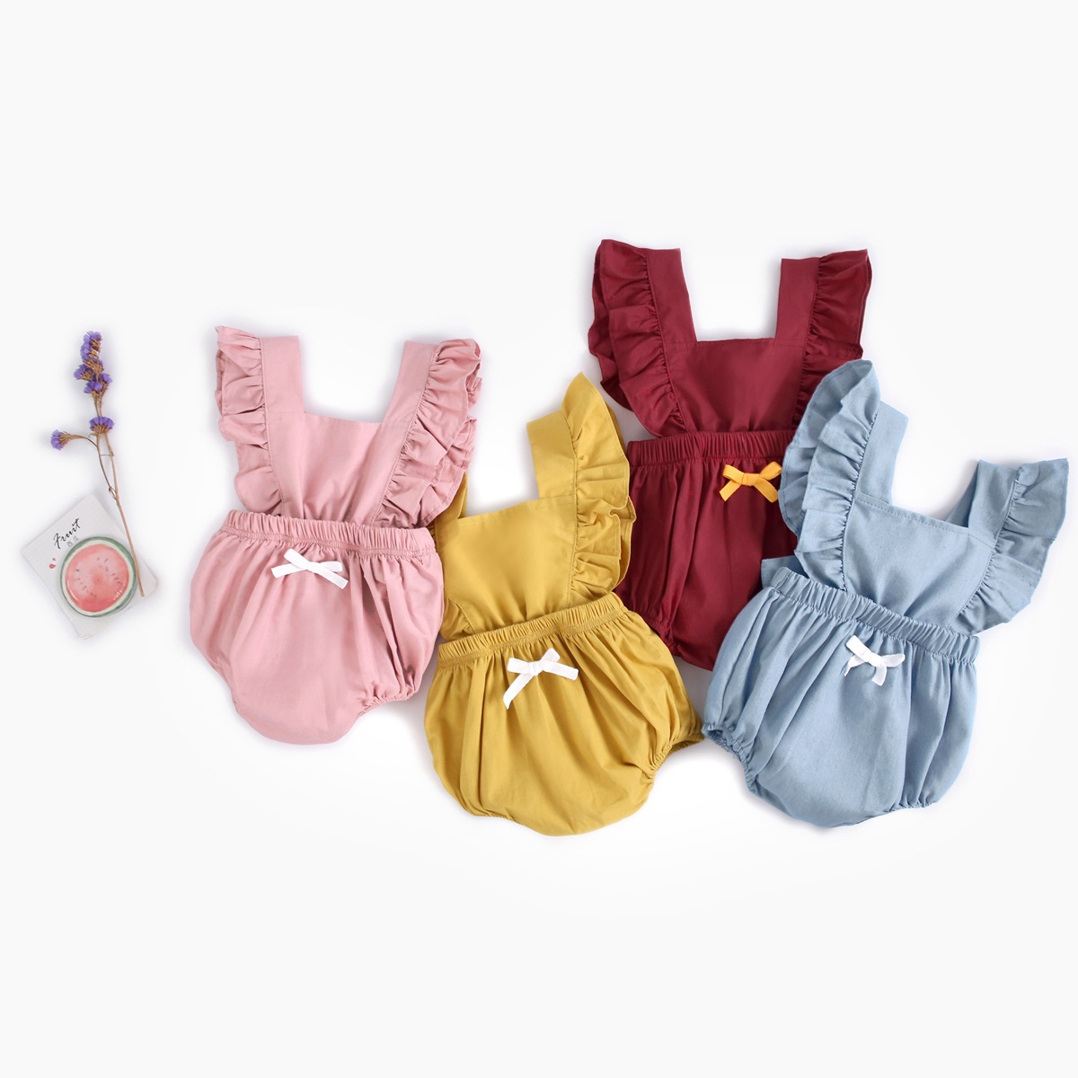 Bodysuits Baby Girl Summer Newborn Baby Girls Sleeveless Jumpsuit Pure Cotton Lace Floral Rompers Soft Cute Princess Costume 1pc