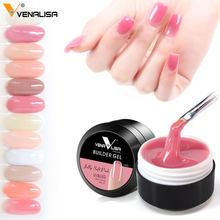 Venalisa – nouveau vernis à ongles uv 12 couleurs, couleur camouflage, constructeur, extension, gelée dure, poly