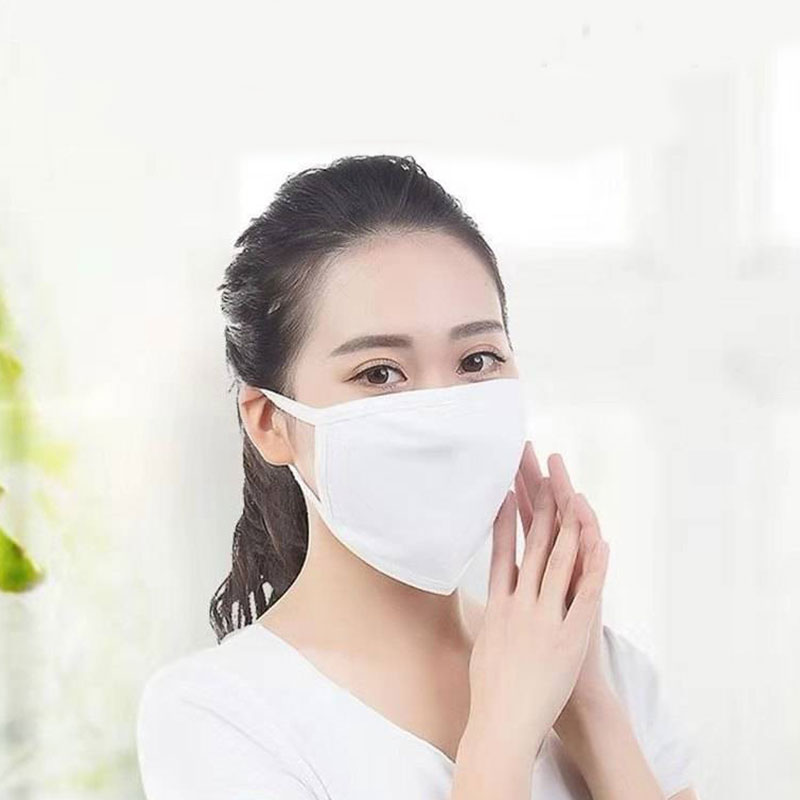 2020 New Cotton Masks For Women Men Cycling Anti-Dust Mouth Masks Unisex Masks Black White Double-Layer Outdoor Mouth-muffle