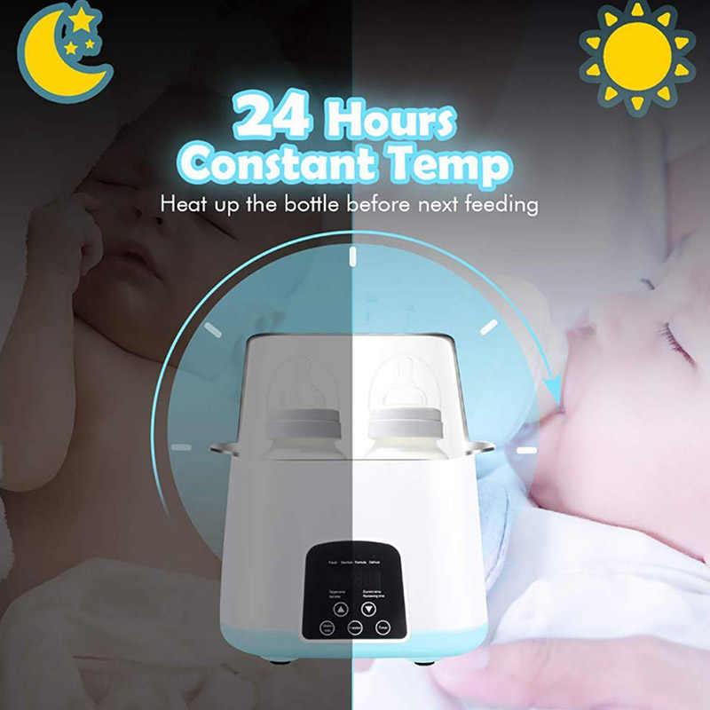 6 in 1 อัพเกรดรีโมทคอนโทรลอัจฉริยะอัตโนมัติ Thermostat ขวดนมอุ่นฆ่าเชื้อ Fast WARM Milk & Sterilizers