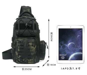Tactical Chest Bag Military Army Laser Molle Sling Shoulder Backpack Men Outdoor Hunting Travel Camping Fishing Camo Bag 4