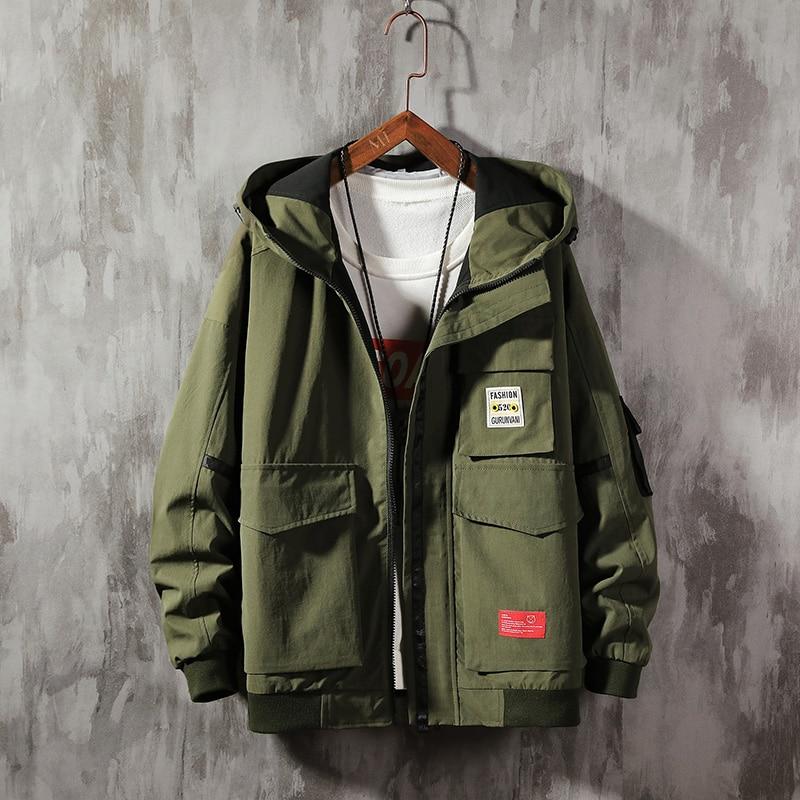 2019 Autumn Mens Casual  Hoodie Jacket Men warm thick coat Plus Size  Windbreaker Coat Male jaqueta masculina