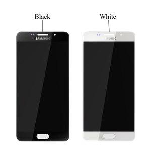 Image 3 - Оригинальный 5,2 SUPER AMOLED для SAMSUNG Galaxy A5 2016 A510 A510F A510M A510FD ЖК дисплей с сенсорным экраном дигитайзер в сборе