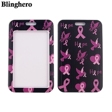 Badge-Holder Name-Tag Nurse Card-Cover Credit-Card ID CB207 Awareness High-Quality