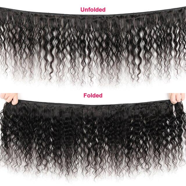 Фото индийские свободные волнистые 3/4 шт человеческие волосы пряди