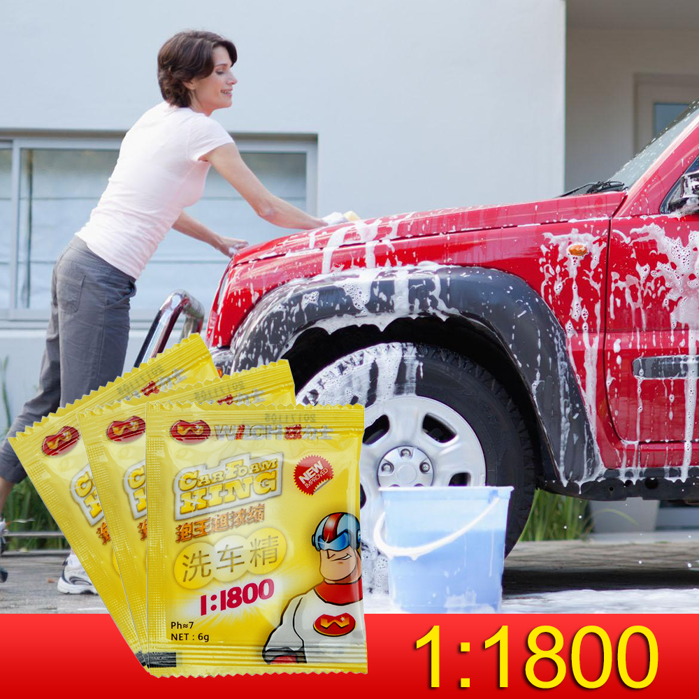 Concentrated Washing Powder Car Cleaning Products Car Wash Cleaning Automobiles Accessories Car Styling