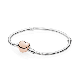 Image 2 - Kakany New High quality Classic Love Promise Heart shaped Bracelet Series Female Original Fashion Diy Romantic Jewelry Gift