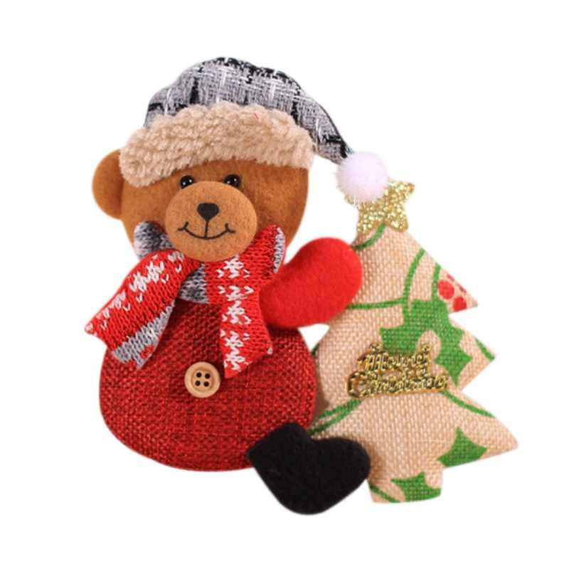 Christmas Doll Decorative Hanging Ornaments For Holiday Door Tree Decor Xmas Gifts