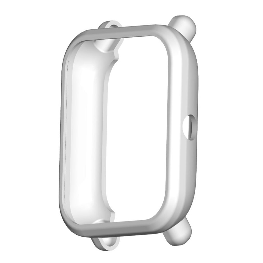 Watch Protective Case Smart Watch Shell Soft TPU Silicone Frame Watch Covers Smart Watch Accessories