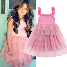 Toddler Baby Girls Birthday Wedding Pageant Party Kids Princess Lace Tutu Dress brand girl white ivory real party pageant communion dress girls kids children bridesmaid toddler princess tutu wedding dress d12