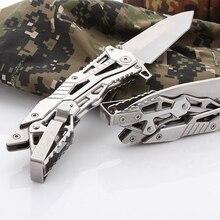 Couteau pliant Portable pour la chasse, le Camping en plein air, sauvetage de survie, haute dureté couteaux à fruits ménagers outils à main multifonctionnels