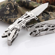 Portable Folding Knife Outdoor Camping Hunting Survival Rescue High Hardness Household Fruit Knives Multifunction Hand Tools