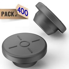 20mm butyl Stoppers Mushroom 400 pcs,For Glass Vial and Liquid Culture Jars, Can Be Sterilized by Steam and Repeated Used