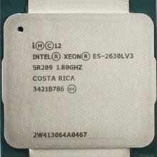 Официальная версия процессора E5 2630LV3, 8 ядер, 16 потоков, 2011, основная частота 1,86 ГБ, 8 ядер, E5 2630LV3 1,8 ГБ