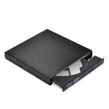 Внешний Dvd привод Оптический привод Usb 2,0 Cd Rom плеер Cd-Rw записывающее устройство Портативный для ноутбука Windows Pc
