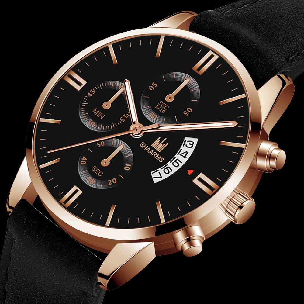 Luxury Men's Watches Quartz Wristwatch Classic Casual Simple Business Reloj Hombre Watch Men Business Relogio Masculino