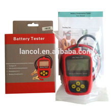 Car Battery Tester MICRO-100/Digital battery tester/12V battery load tester 12v car motorcycle digital battery alternator load tester 6 led display vehicle battery tester free shipping