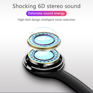 Image 4 - Écouteurs Bluetooth, écouteurs mains libres sportifs, écouteurs sans fil, casque magnétique avec Microphone pour téléphones portables Xiaomi