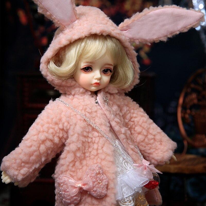 OUENEIFS BJD Sarah Yosd Doll1/6 Model Baby Girls Boys Doll Toys For Children Friends Surprise Gift Christmas Present