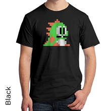 Bubble Bobble Player 1 T Shirt Video Game 90s Retro Vintage 8-Bit 75(China)