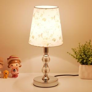 Image 2 - Crystal Table Lamps For Bedroom Living Room LED Bedside Lamp Art Modern Bed Lamp Christmas Decoration Lampe De Chevet De Chambre