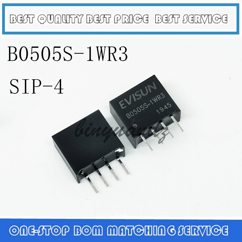 B0505S-1WR3 SIP-4 DC-DC Power Supply Module 5V To 5V 1W