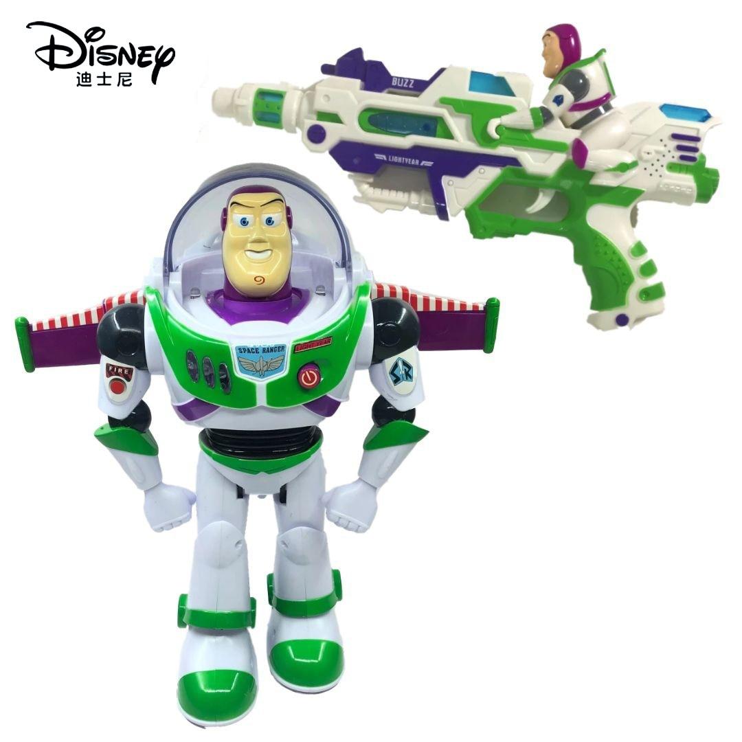 Figuras de acción de Toy Story 3, Buzz Lightyear parlante, Woody, Forky, Alien, Jessie, juguete de PVC de 28cm, muñecos coleccionables, regalo para niños
