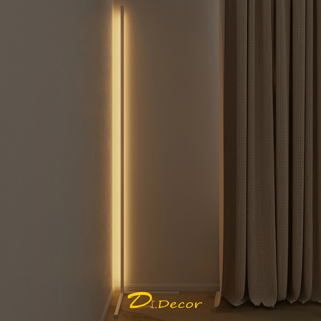 Nordic LED Floor Lamp Corner LED Floor Light Coloful Bedroom lamp Atmosphere Lighting Club Home ndoor Decor Corner Standing Lamp Home Decor & Toys