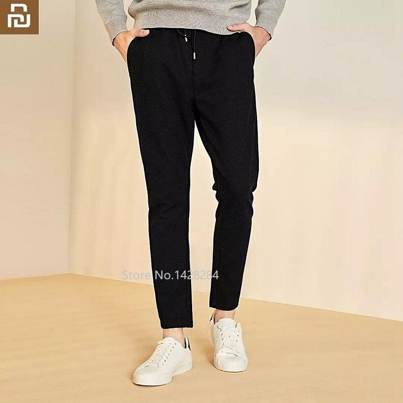 Xiaomi Men Autumn Summer Sports Running Loose Pants Pockets Training Elasticity Waist Legging Jogging Casual Trousers Sweatpants