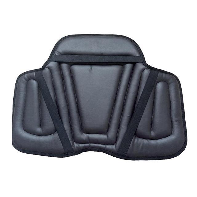 Leather Horse Riding Seat Shock Absorbing Memory Foam Saddle Cushion 4